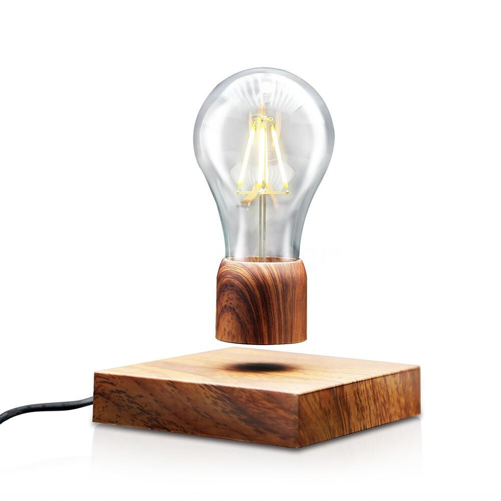 Table Lamps - Magnetic Levitating Floating Desk Lamp LED Light Bulb Night Light with Base TouchSwitch for Home - Lighting