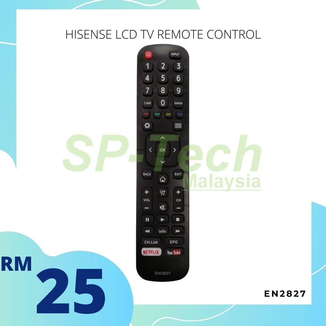 HISENSE LCD TV REMOTE CONTROL EN2B27