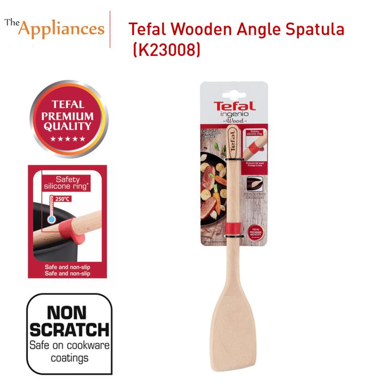 Tefal Ingenio Wooden Angle Spatula