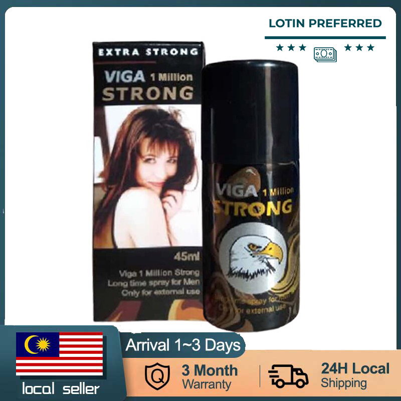 【READY STOCK】SUPER VIGA 1000000 Delay Spray For Men Lasting Long Premature Lama