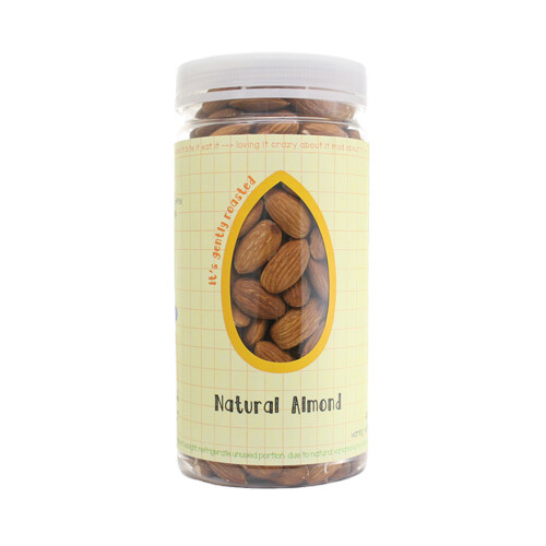Love Earth Lghtly Roasted Natural Almond 350G - Twin Pack