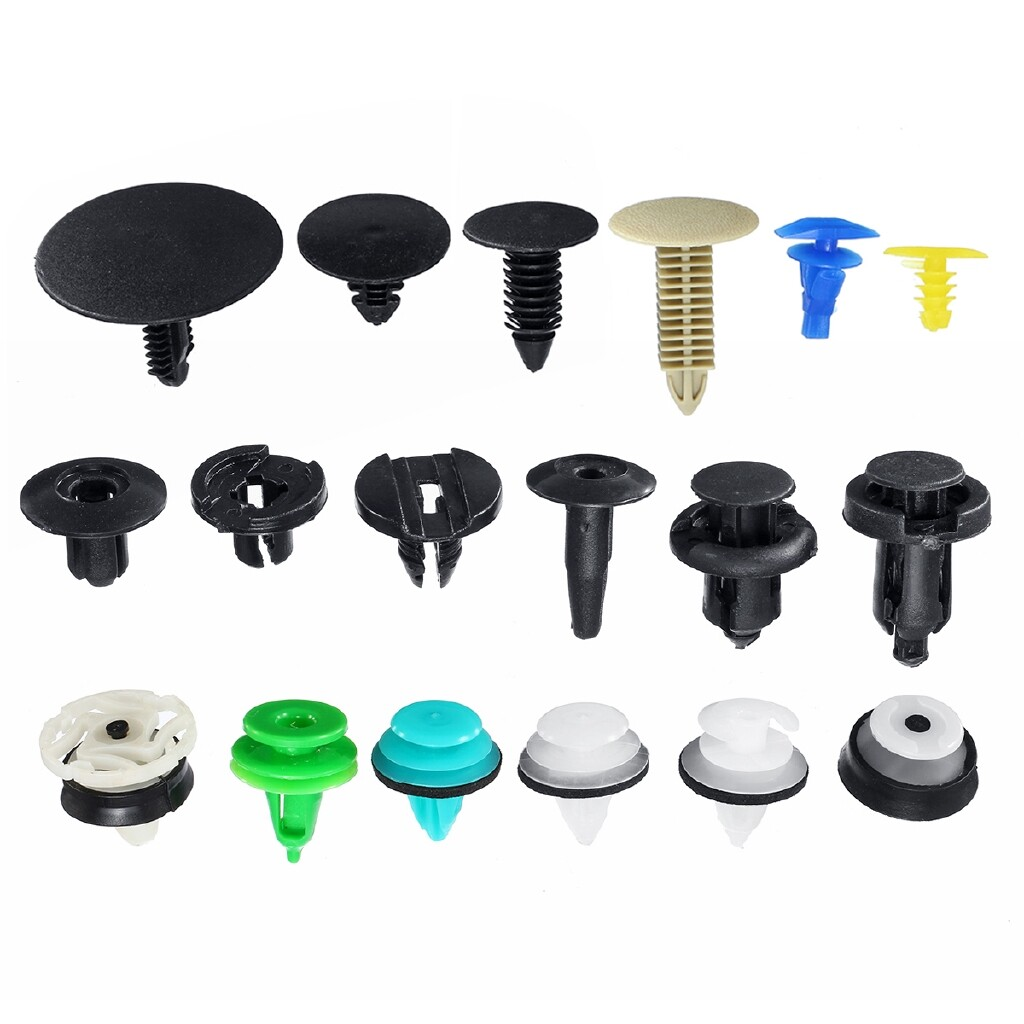 Car Accessories - 18 Kinds 500 PIECE(s) Car Clips Ceiling Cover Panel Buckle Moulding Trim Clip Fastener kit - Automotive