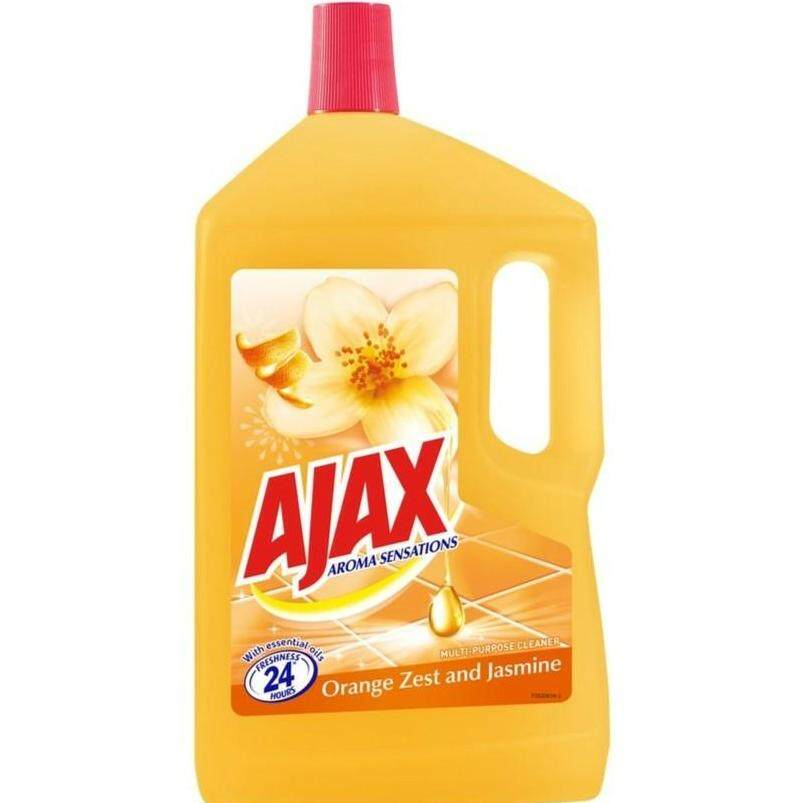 AJAX AROMA SENSATIONS MULTI-PURPOSE CLEANER -ORANGE ZEST AND JASMINE (1.5L) READY STOCK