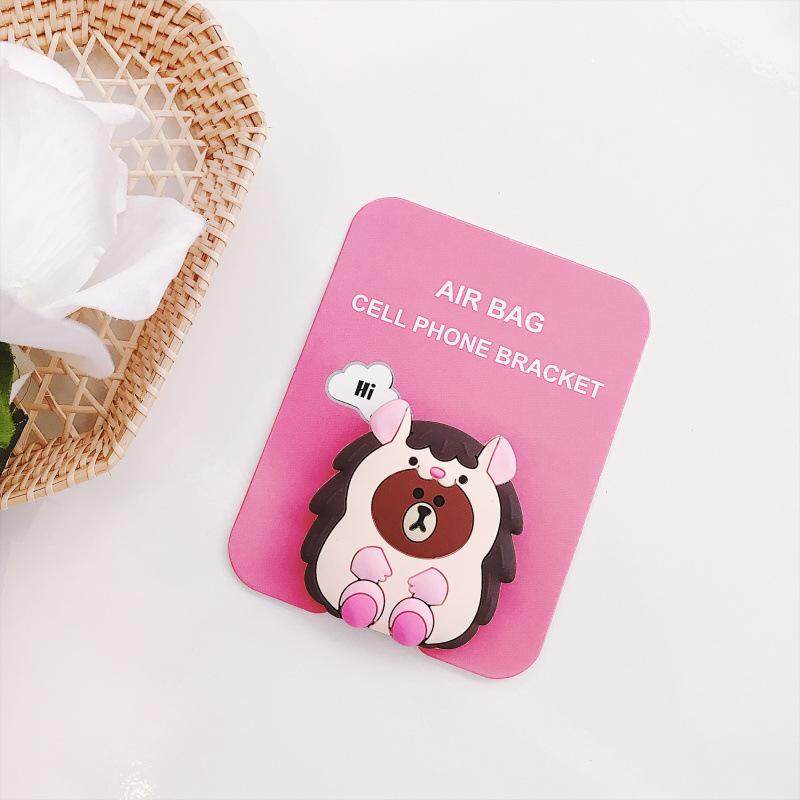 Cute Animal Coco Bear Pattern Airbag Cellphone Bracket Phone Stand Holder