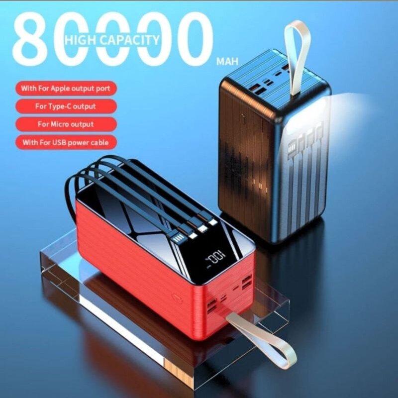 READY STOCKVIAKING YM-322DX 80000MAH POWERBANK