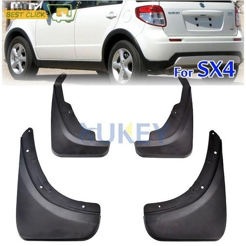 Car Replacement Parts - Car Mudguard Mud Flaps Crossover Splash Guards For Suzuki SX4 Hatchback - Automotive