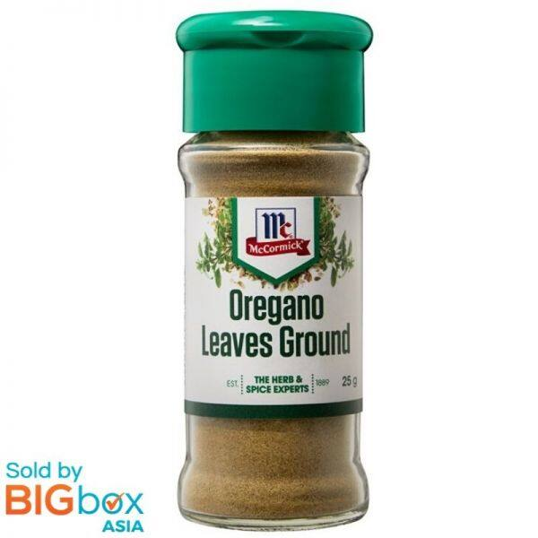McCormick Herb & Spices 25g - Oregano Leaves Ground