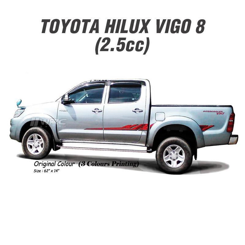 Toyota Hilux Vigo (8) 2.5 Body Sticker