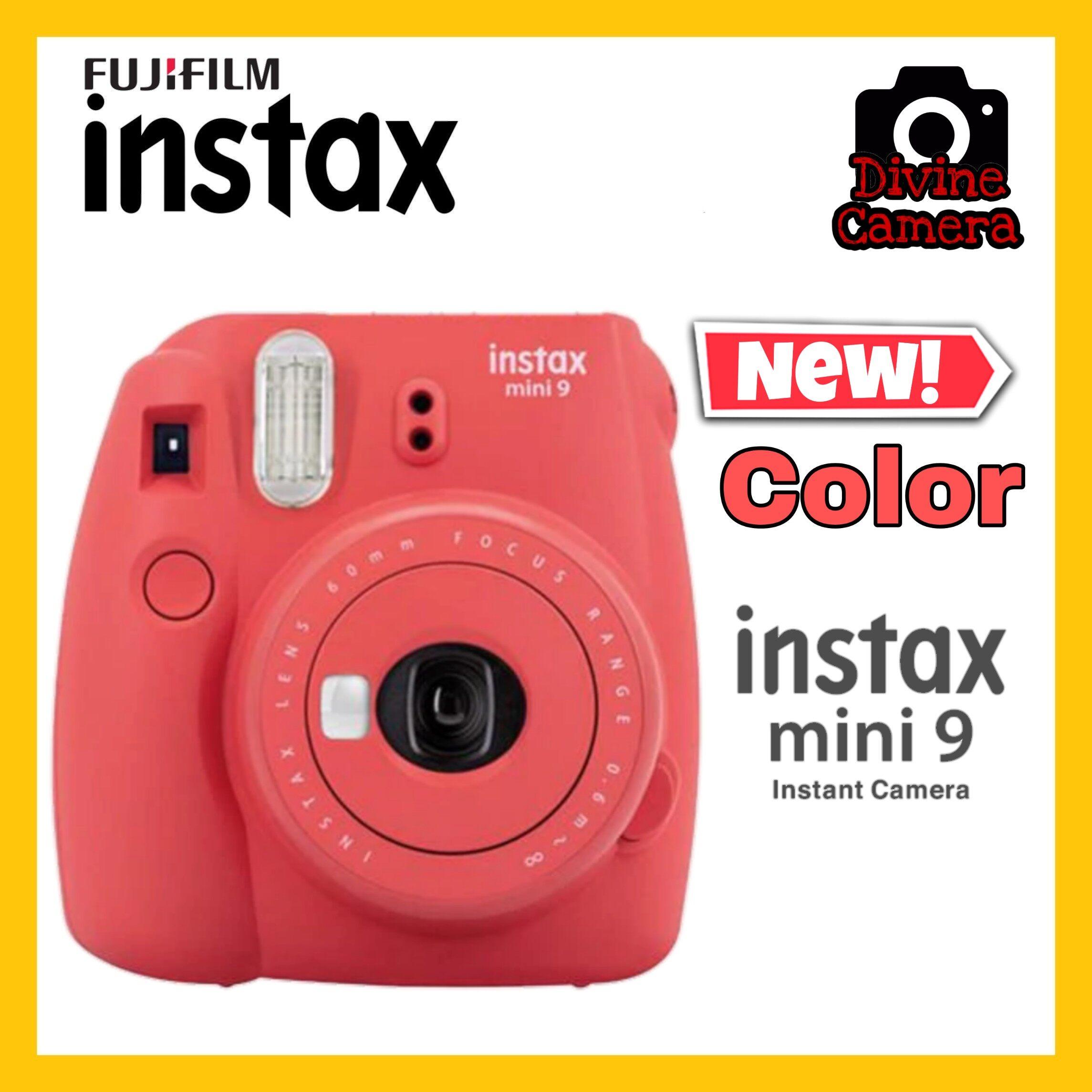 FUJIFILM INSTAX Mini 9 Instant Film Camera 2020 New Color (Poppy Red)