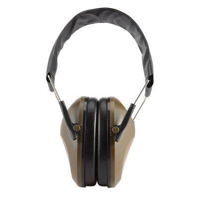 Tactical Folding Hearing Protector Soundproof Earmuff Headset (ARMY GREEN)