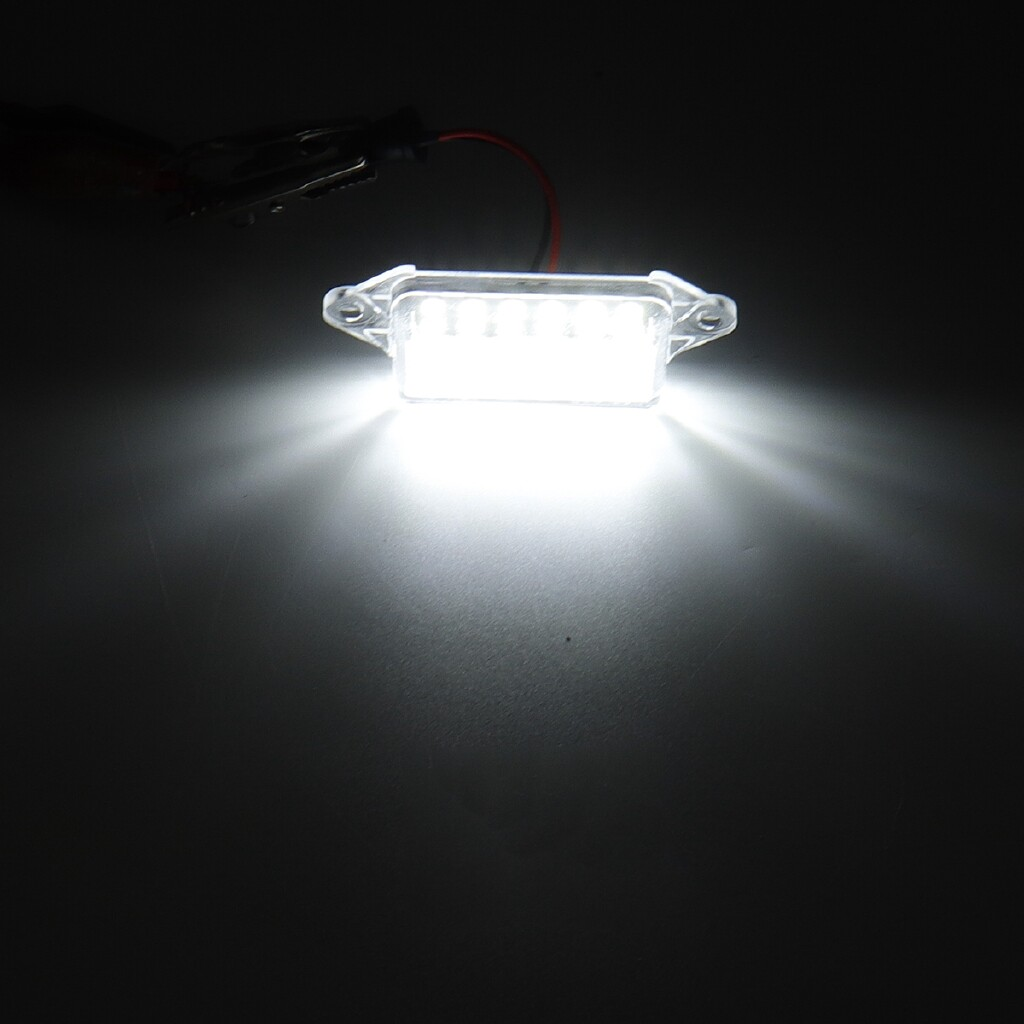 Car Lights - For Mitsubishi Lancer X EVO Error Free LED Number License Plate light Lamp 03-17 - Replacement Parts