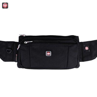 Swiss Gear Canvas Messenger Sling Bag,pouch waist Bag with multiple compartment switzerland multipurpose Chest Bag #dm