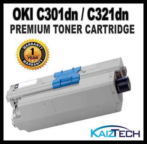 OKI / Okidata C301dn C321dn Premium Compatible Toner Cartridges