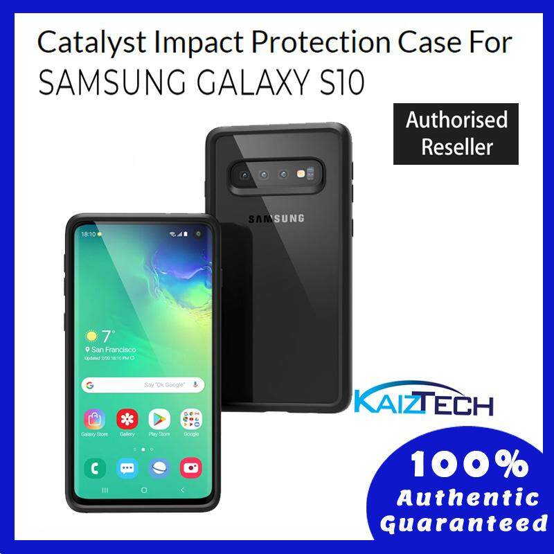Original Catalyst Impact Protection Case For Samsung Galaxy S10 - Stealth Black