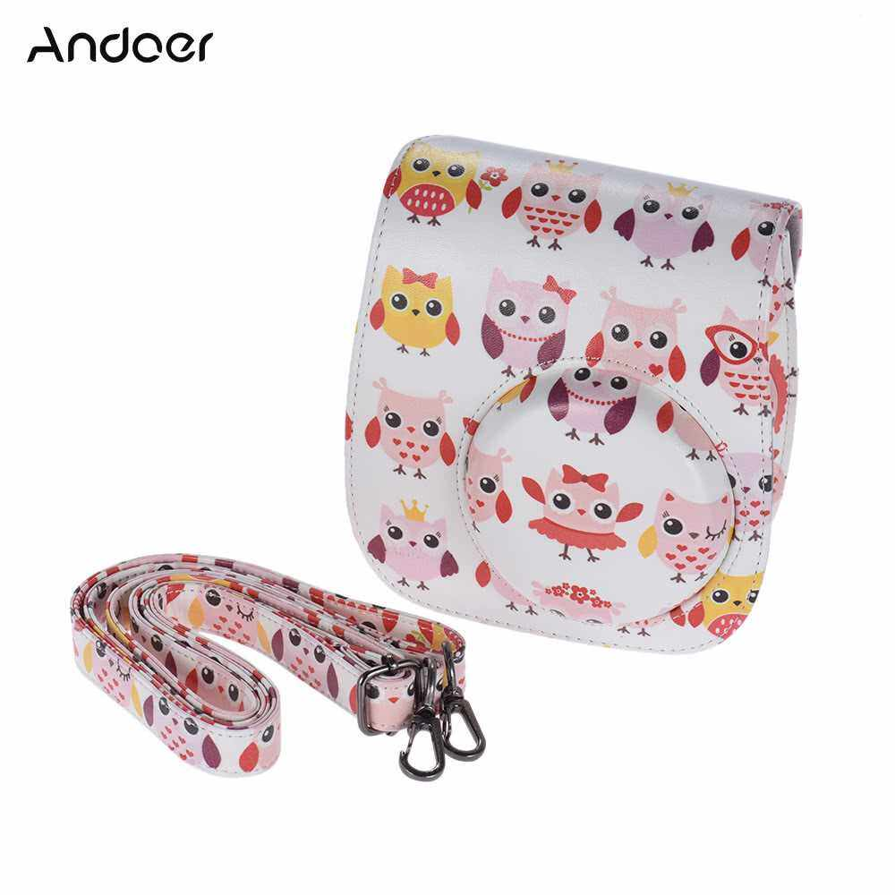Andoer PU Protective Camera Case Bag Pouch Protector for Fujifilm Instax Mini 8+/8s/8 (5)