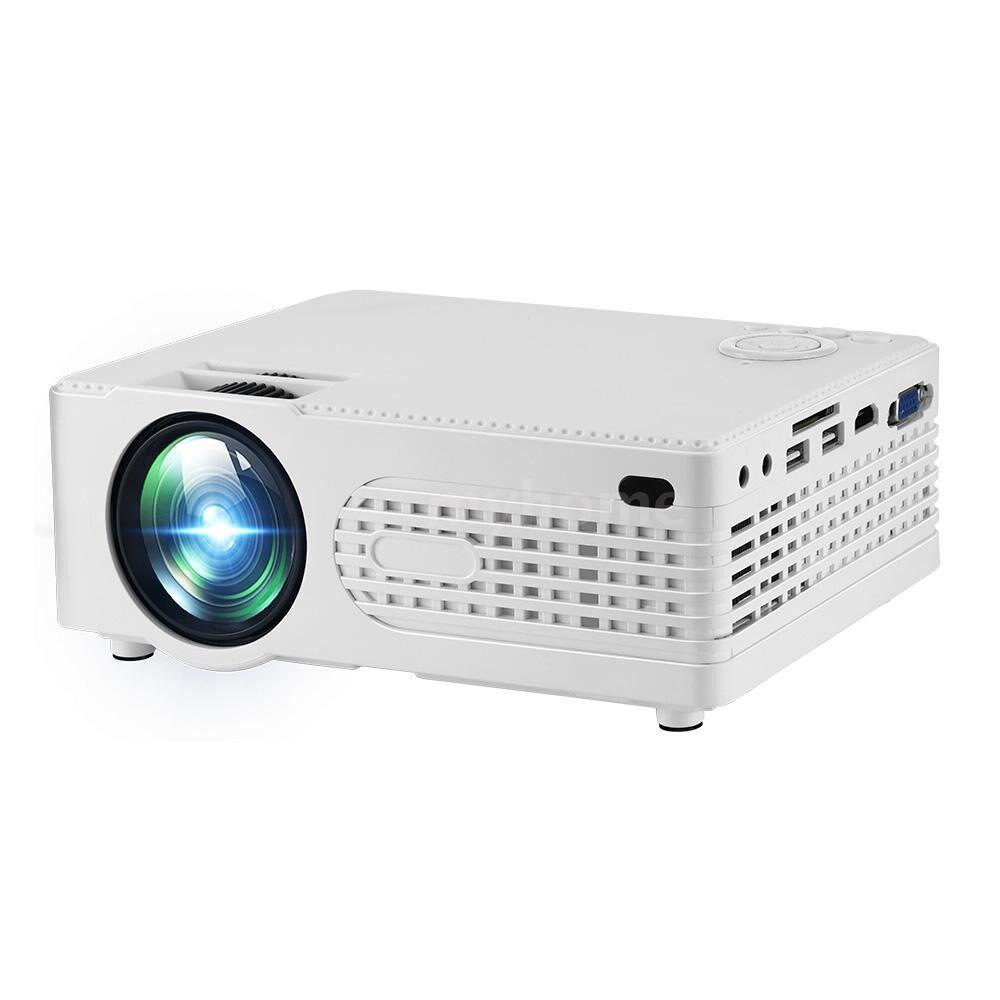 Printers & Projectors - MINI Projector PORTABLE LED Projector 30000 Hours Lamp life 2200 Lumen Brightness Max. 120 Inch - Computer & Accessories
