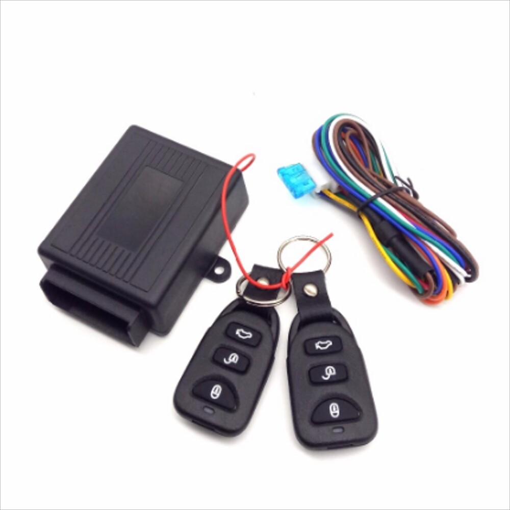 Car Accessories - Central Lock Universal Remote Car Auto Vehicle Car Alarm System Keyless Entry System Door Lock Kit - Automotive