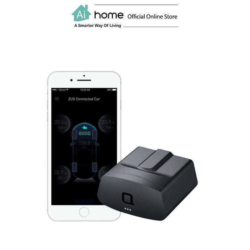 NONDA ZUS Smart Vehicle Health Monitor (Black) with 1 Year Malaysia Warranty [ Ai Home ] NONDA ZUS Vehicle Monitor