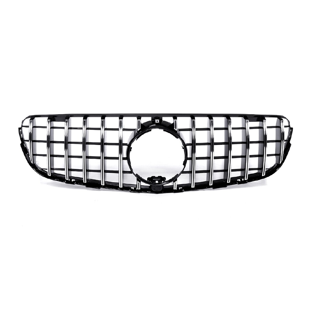 Automotive Tools & Equipment - GT R Grill Grille For Mercedes Benz GLC Class W/X253 GLC300 GLC350 2015- AMG - Car Replacement Parts