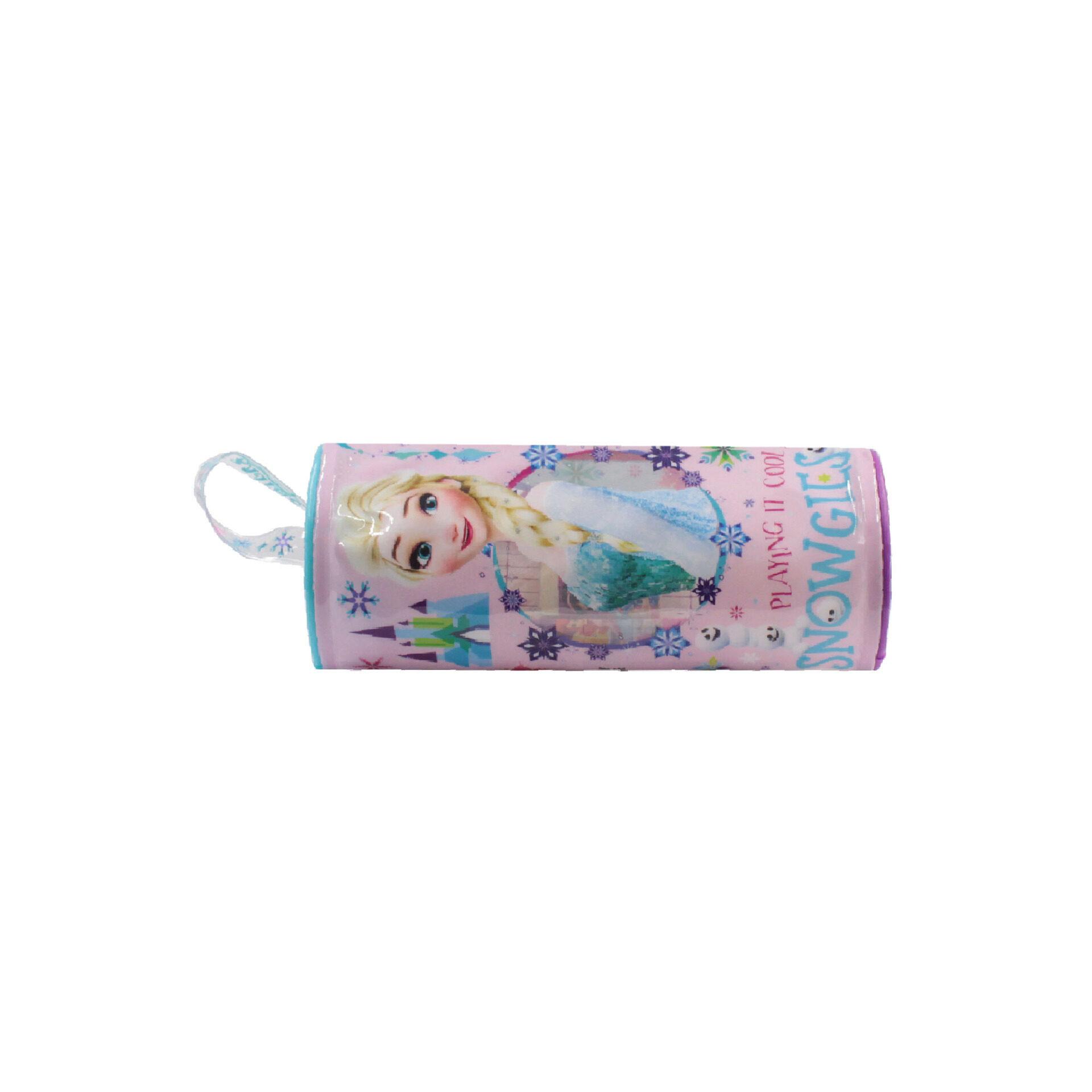 Disney Frozen 2 Princess Elsa 4 in 1 Stationery Set - Pencil Case, Ruler, Eraser & Sharperner
