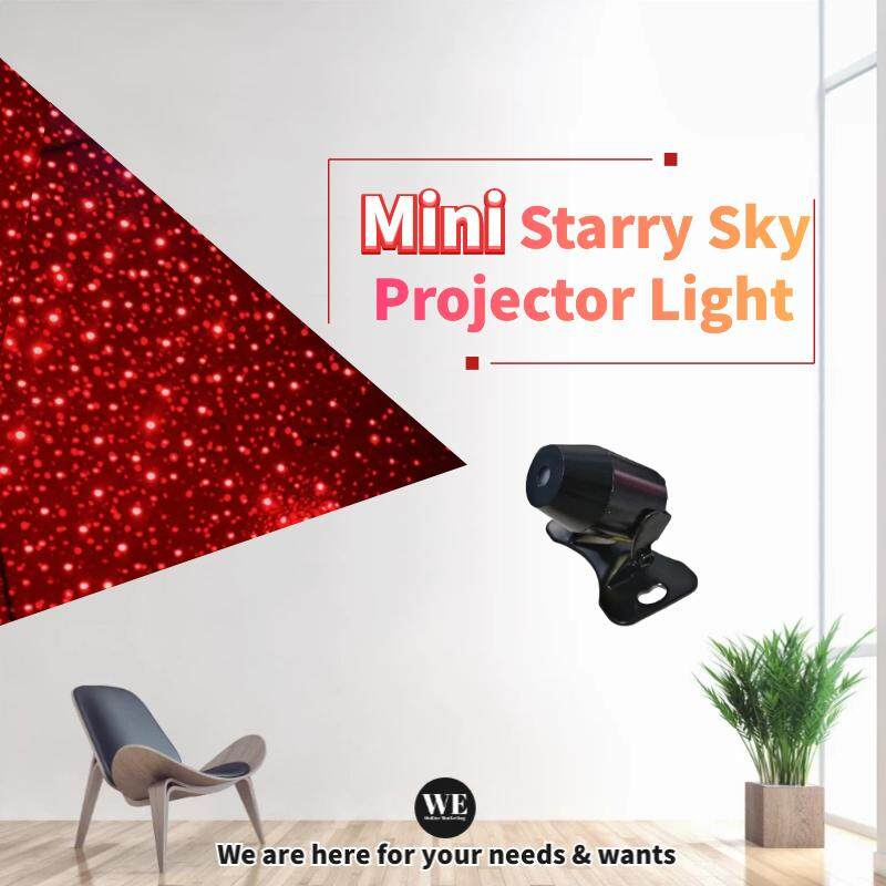 Mini Starry Sky Projector Light / USB Portable LED Laser Flashing Star Light Ceiling Light Party Light Festival Light Decoration Light Universal Light