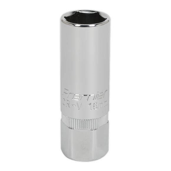 "(Pre-order) Sealey Spark Plug Socket 16mm 1/2""Sq Drive Model: S12SP10"