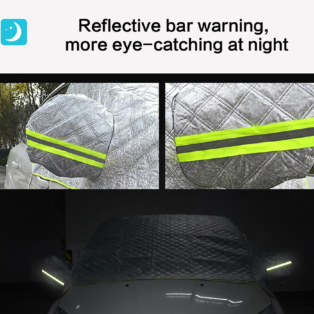 Car Lights - Universal Car Windshield Sun Shade Snow Ice Rain Protection Cover - Replacement Parts