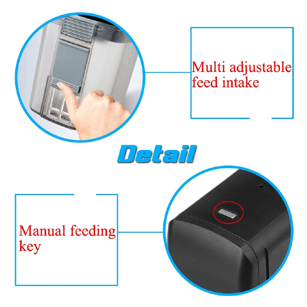 DIY Tools - Automatic WiFi Smart Fish Feeder Control Timer Food Dispenser For Fish Tank - Home Improvement