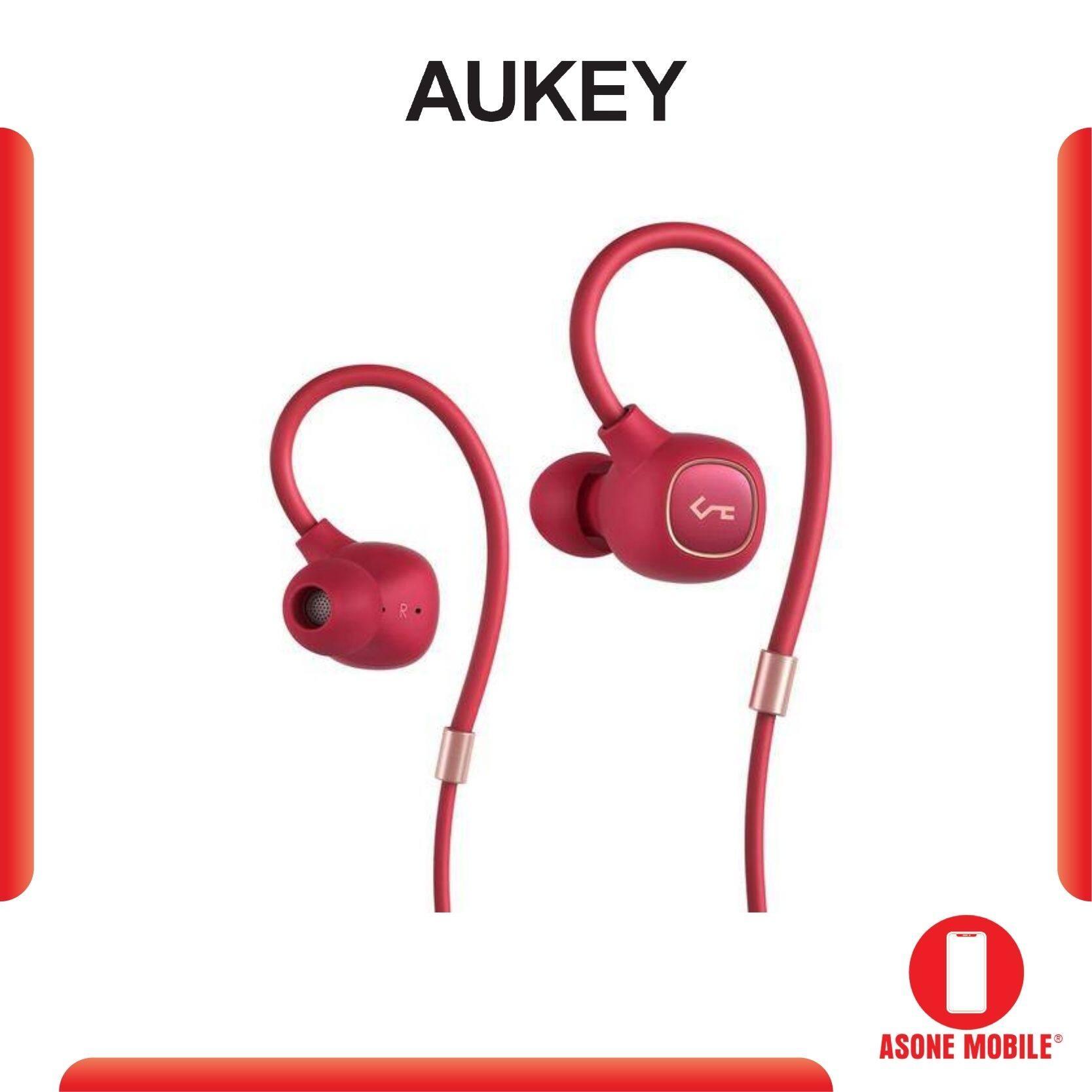Original Aukey EP-B80 Key Series Bluetooth 5.0 Hybrid Dual Driver aptX Wireless Headphones Earbuds