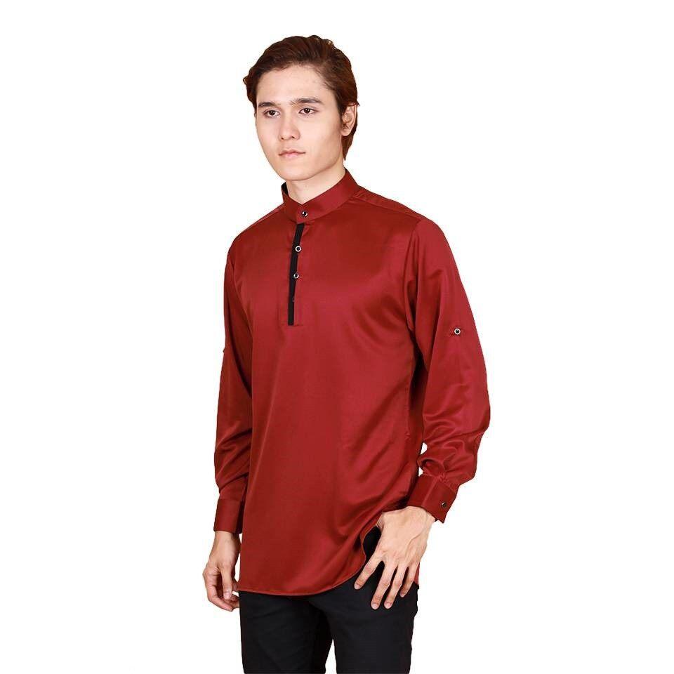 2021 Raya Collection Hamza Long Sleeve Button Modern Kurta Non Iron Muslimin Fashion BEST SELLER