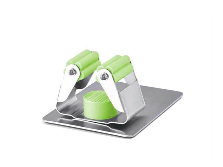 Self adhesive (sticker) 304 stainless steel mop and broom holder (Strong hold)