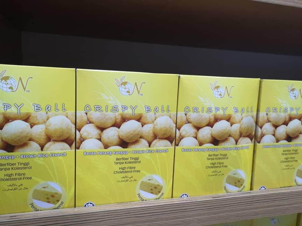EL-Brown Rice Crispy Ball - Cheese Flavour 50g