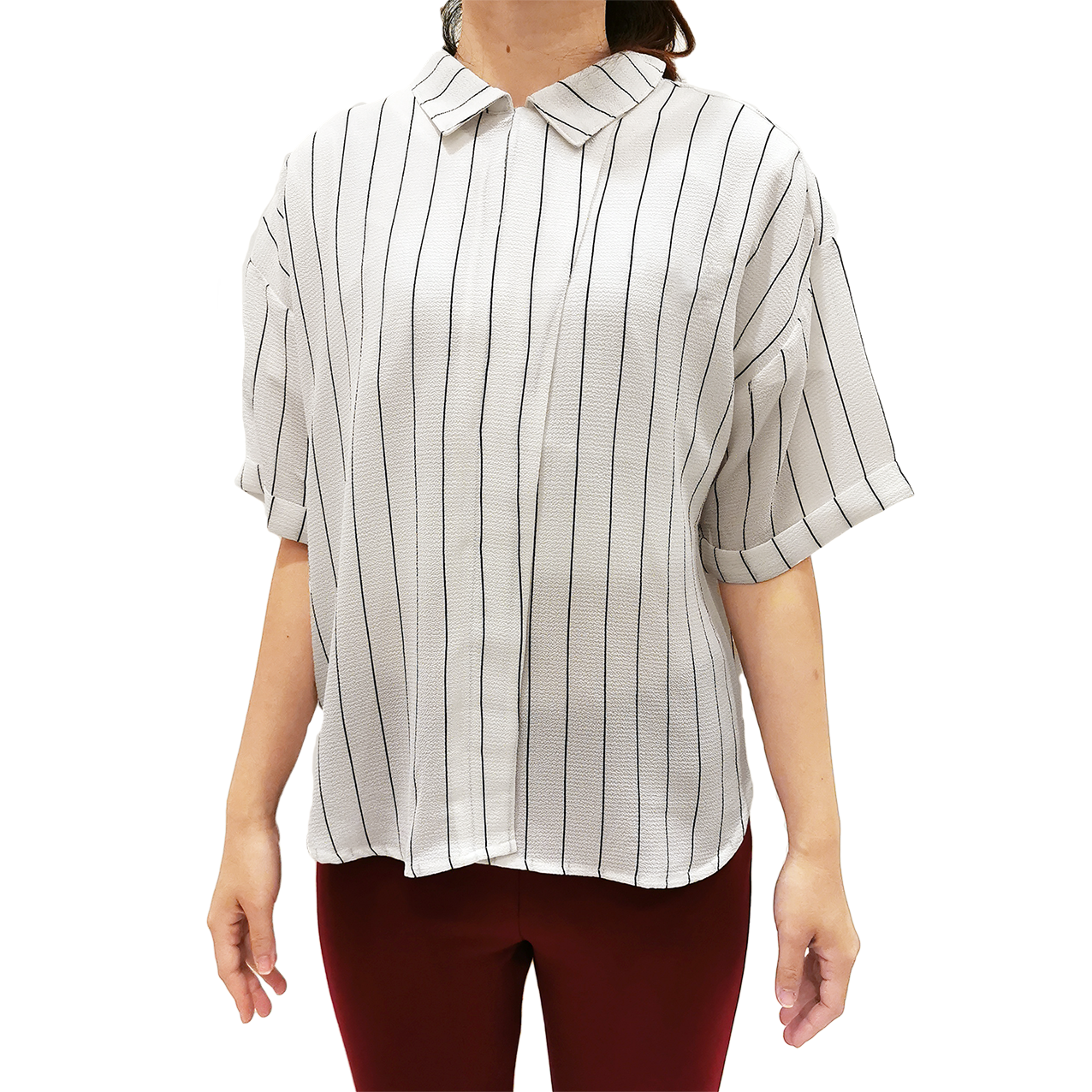 Hush Puppies - Alexis Short Sleeve Blouse  HQW671514