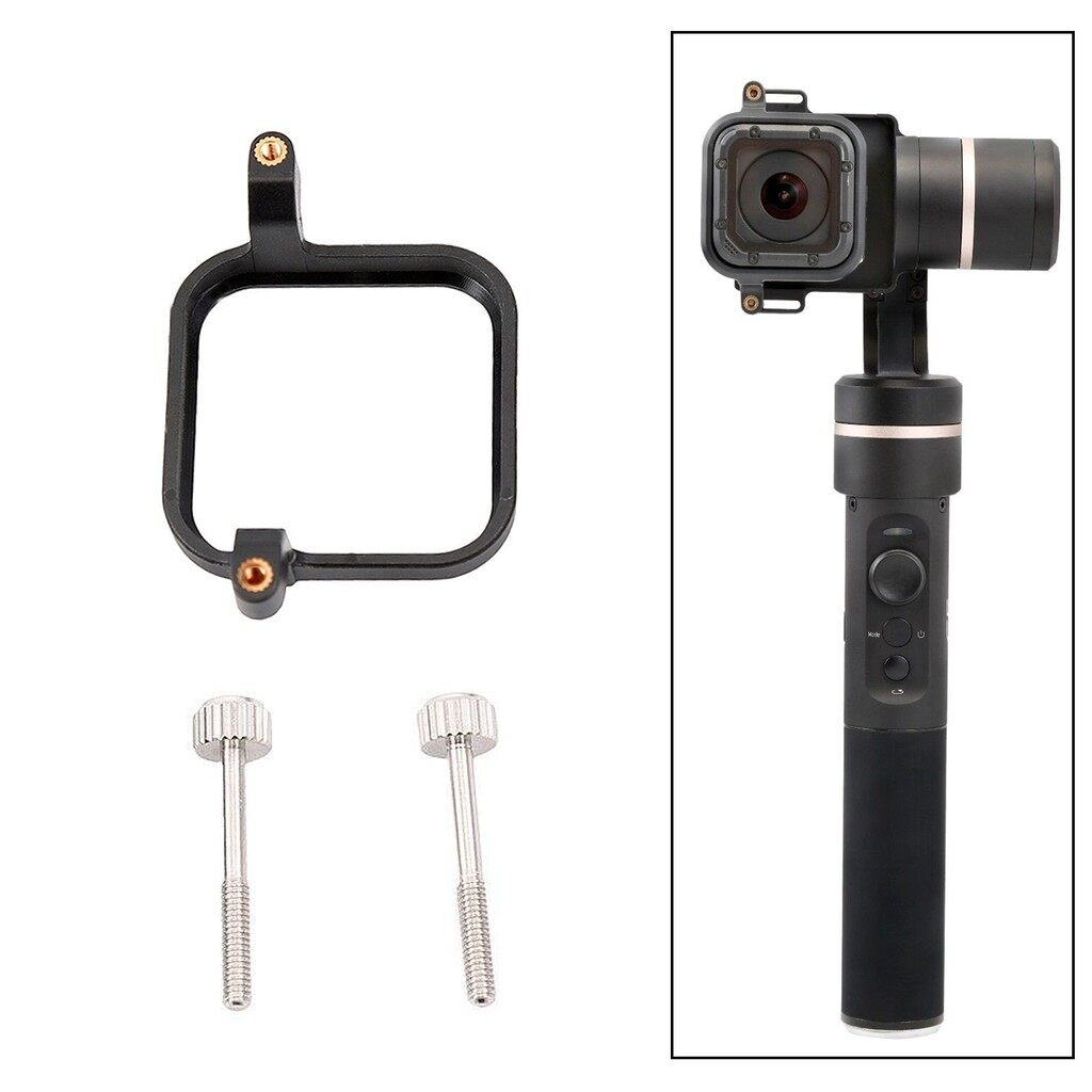 Camera Accessories - Clip Mount Plate Connector Adapter Kit For Feiyu G5 WG2 Gopro Hero 4 5 Session - Cameras & Drones