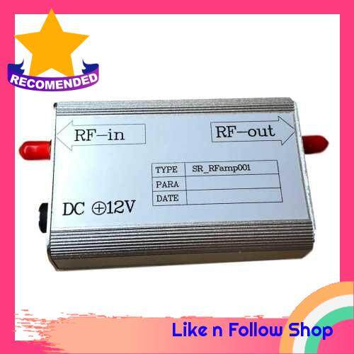 8KHz-3GHz Frequency Band MC EMI Low Noise RF Radio Frequency Amplifier 30dB Input Signal RFamp001 Practical Professional Tools (Standard)