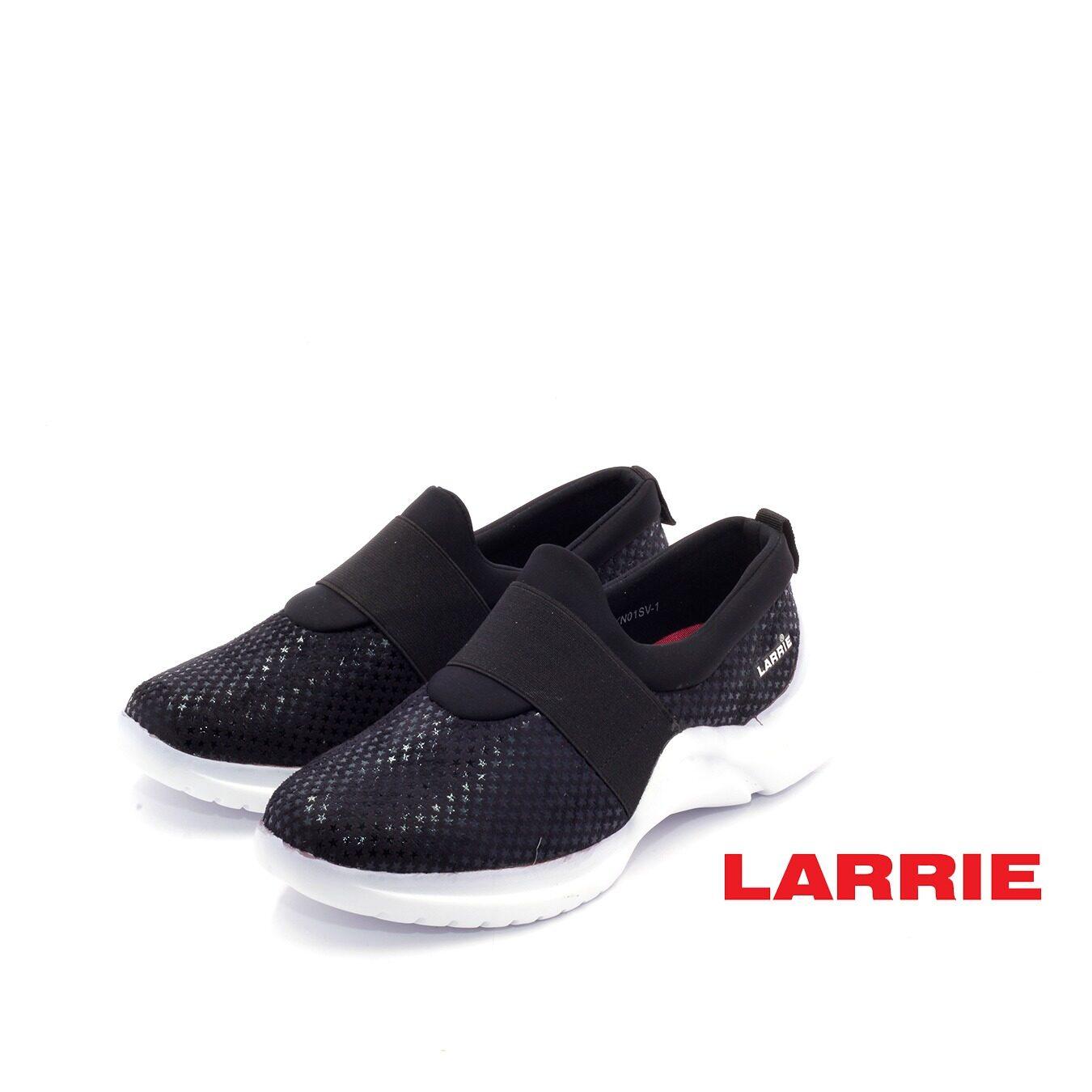 LARRIE Kasut Wanita Thick Band Casual Basic Sneaker Women  - L61902-KN01SV