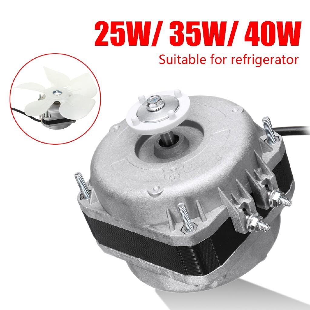 Water Heaters - 25W/35W/40W 220V 1300r/min Refrigerator Evaporator Freezer Fan Motor SET - 90W / 25W / 35W / 40W / 60W / 75W