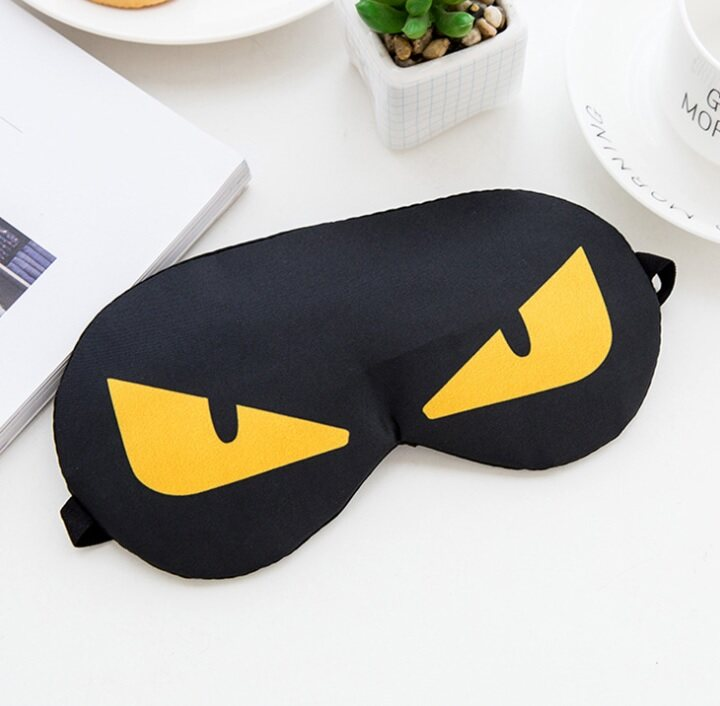 Poly-Pac XQ8034 Sleeping Eye Cover Shade Mask with Inner Cooling Gel Pad