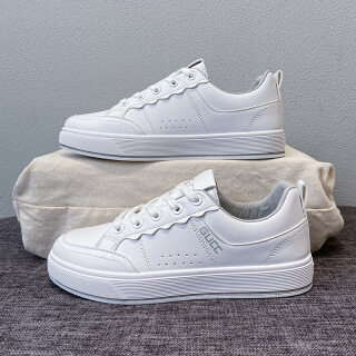 2021 autumn new breathable small white shoes women s fashion student board shoes net red street shot elevated casual shoes s806 thumbnail