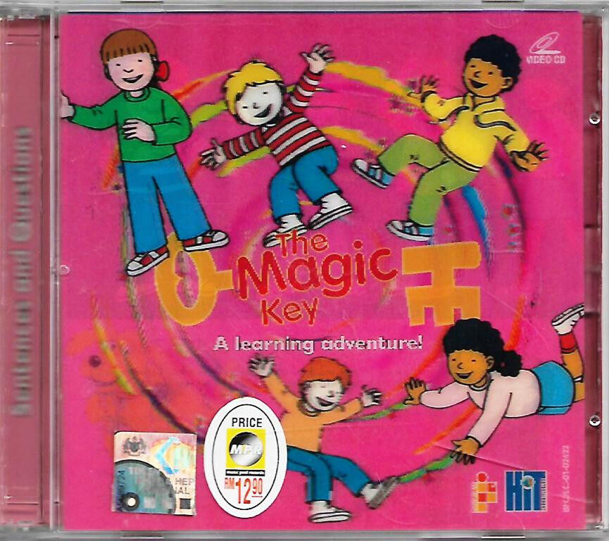 The Magic Key - A Learning Adventure : Sentences And Question VCD 4-6 Years Old