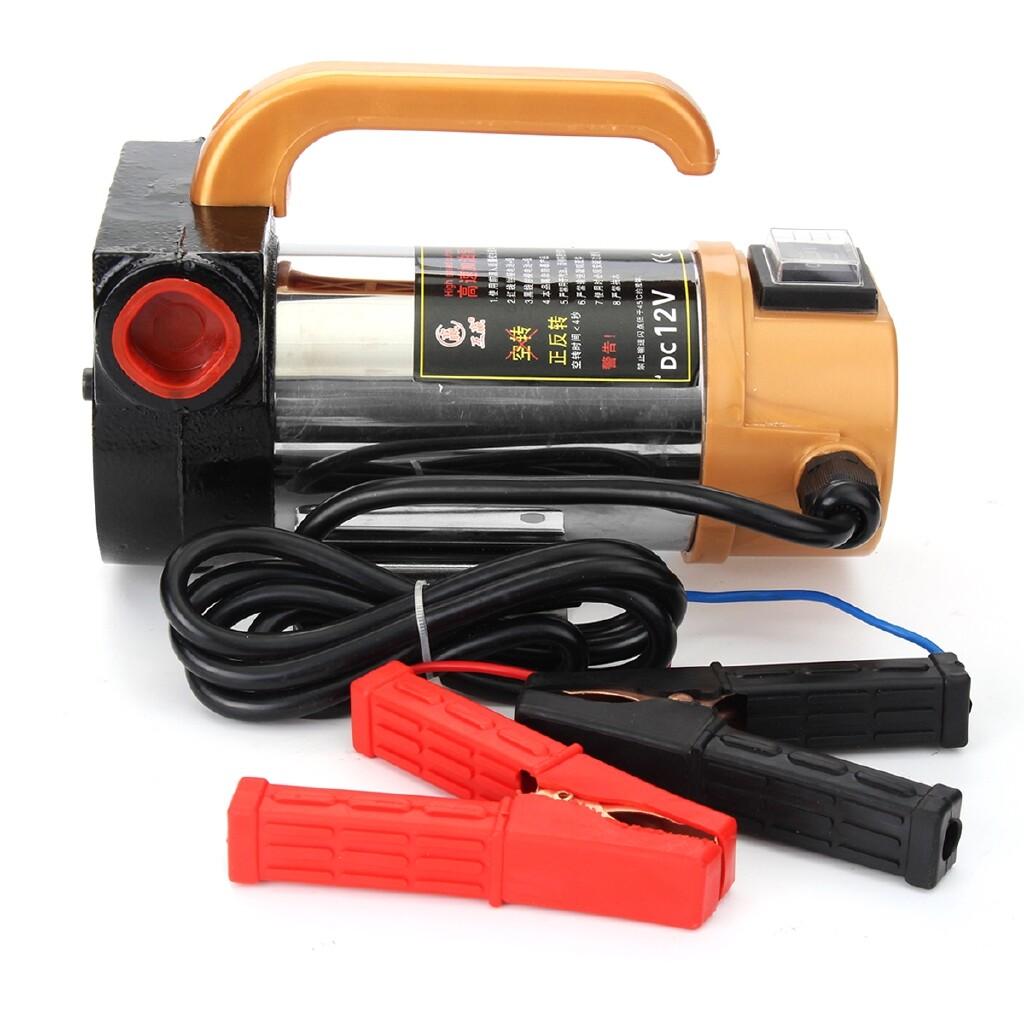 Engine Parts - DC 12V 300W Car Oil Diesel Fuel Extractor Suction Pump Transfer Fluid 50L/min - Car Replacement