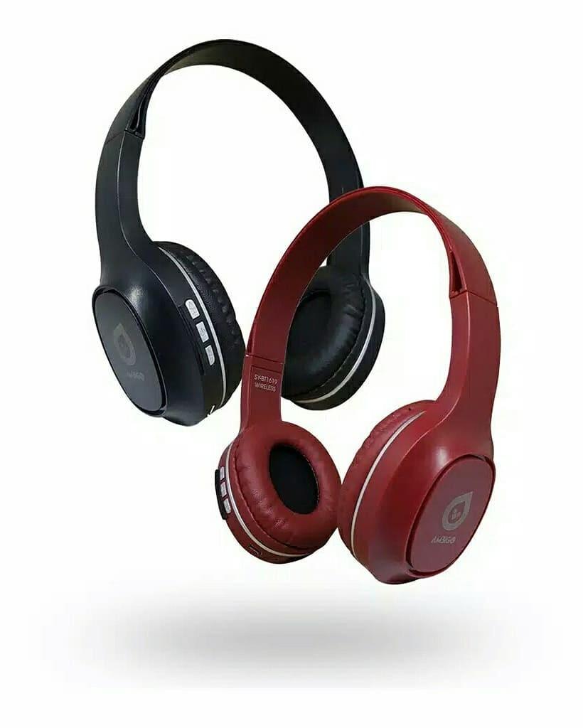 Ambigo Headphone Extra Bass Bluetooth Wireless Headset Model Bando
