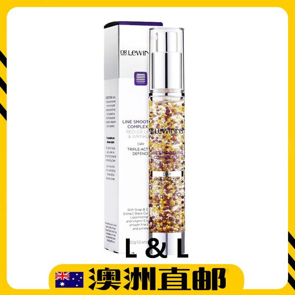 [Pre Order] Dr.Lewinn's Line Smoothing Complex Triple Action Day Defence Face Serum 30g (Made in Australia)