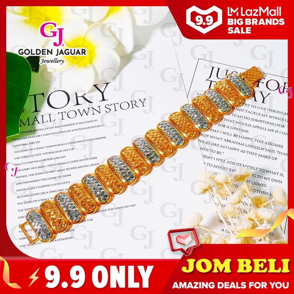 GJ Jewellery Emas Bangkok Bracelet - Winter A Leaf (BKK-2683082)