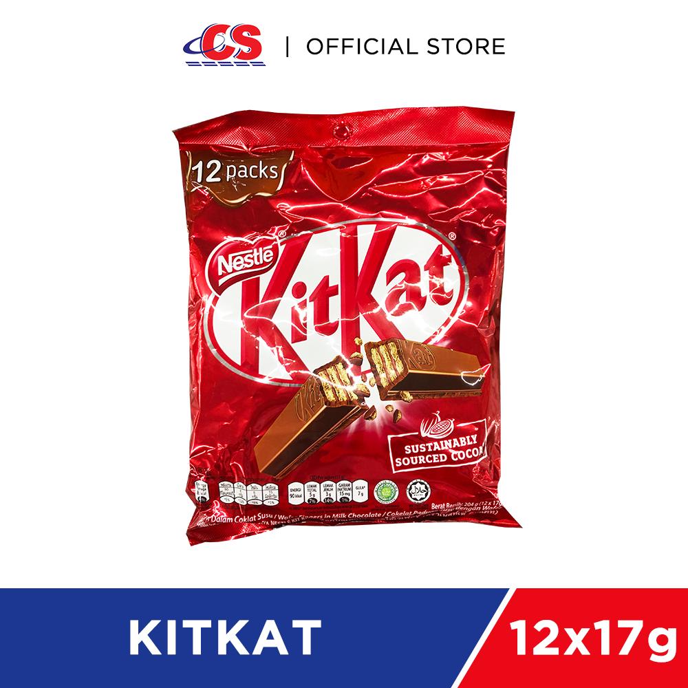 KIT KAT Wafer Fingers Milk Chocolate 12x17g