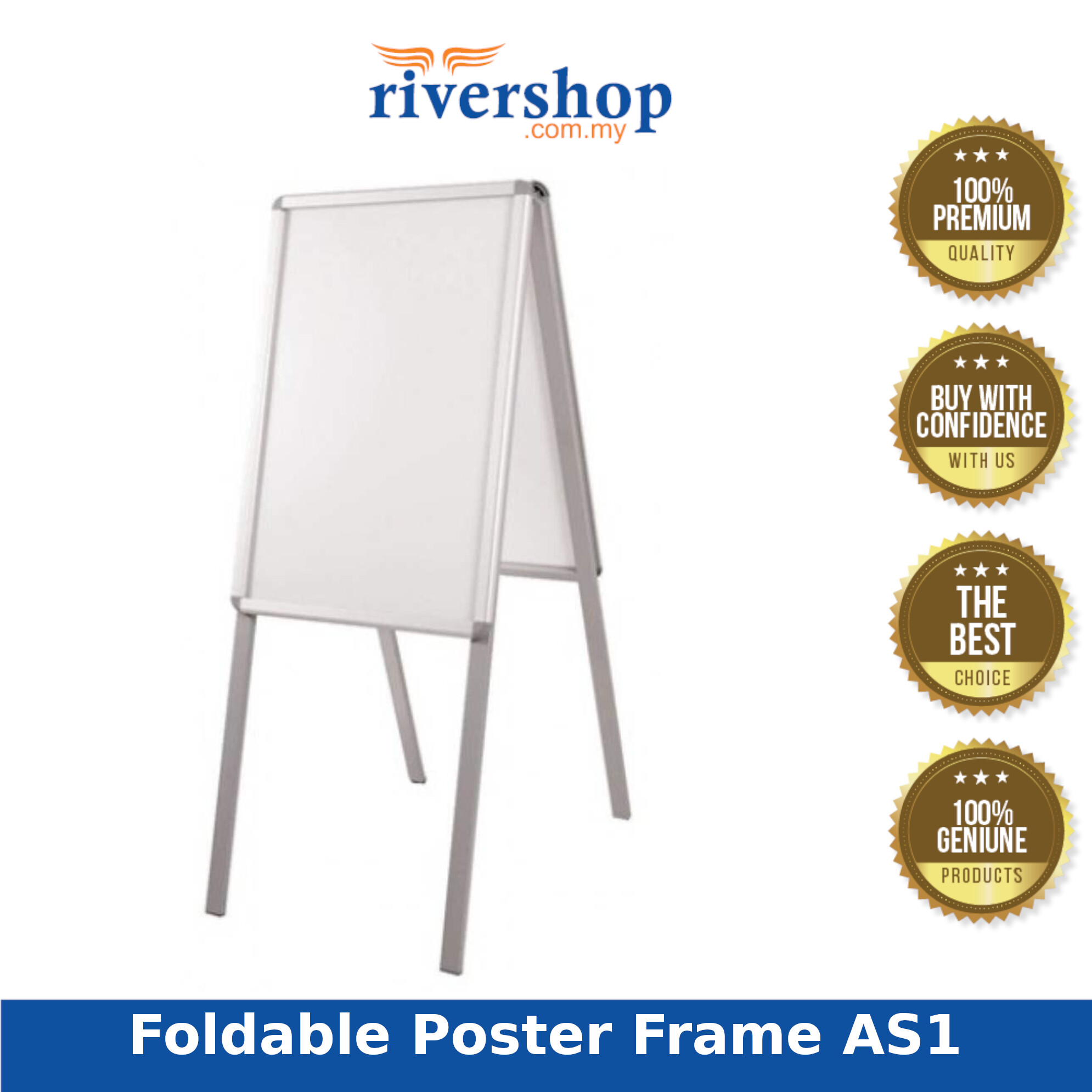 """Foldable Poster Frame AS1- Single sided 20""""x30"""" 58W x 136H x 79D (Item No: G03-12)"""