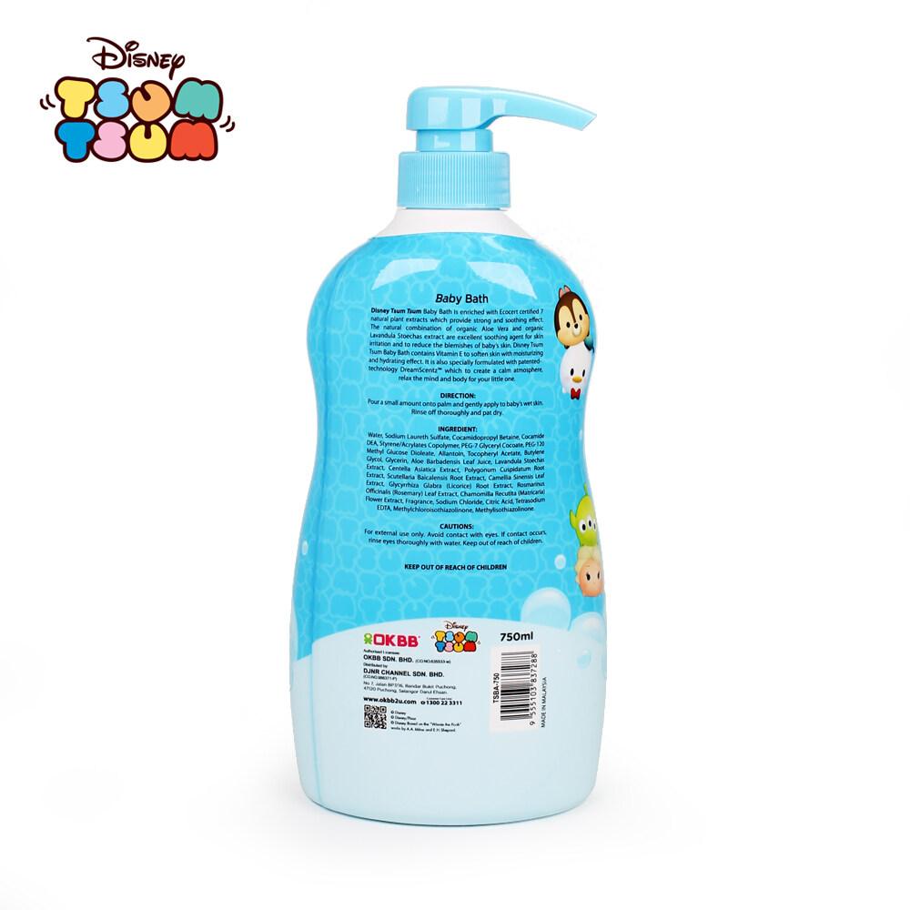 OKBB Tsum Tsum Baby bath (750ml)