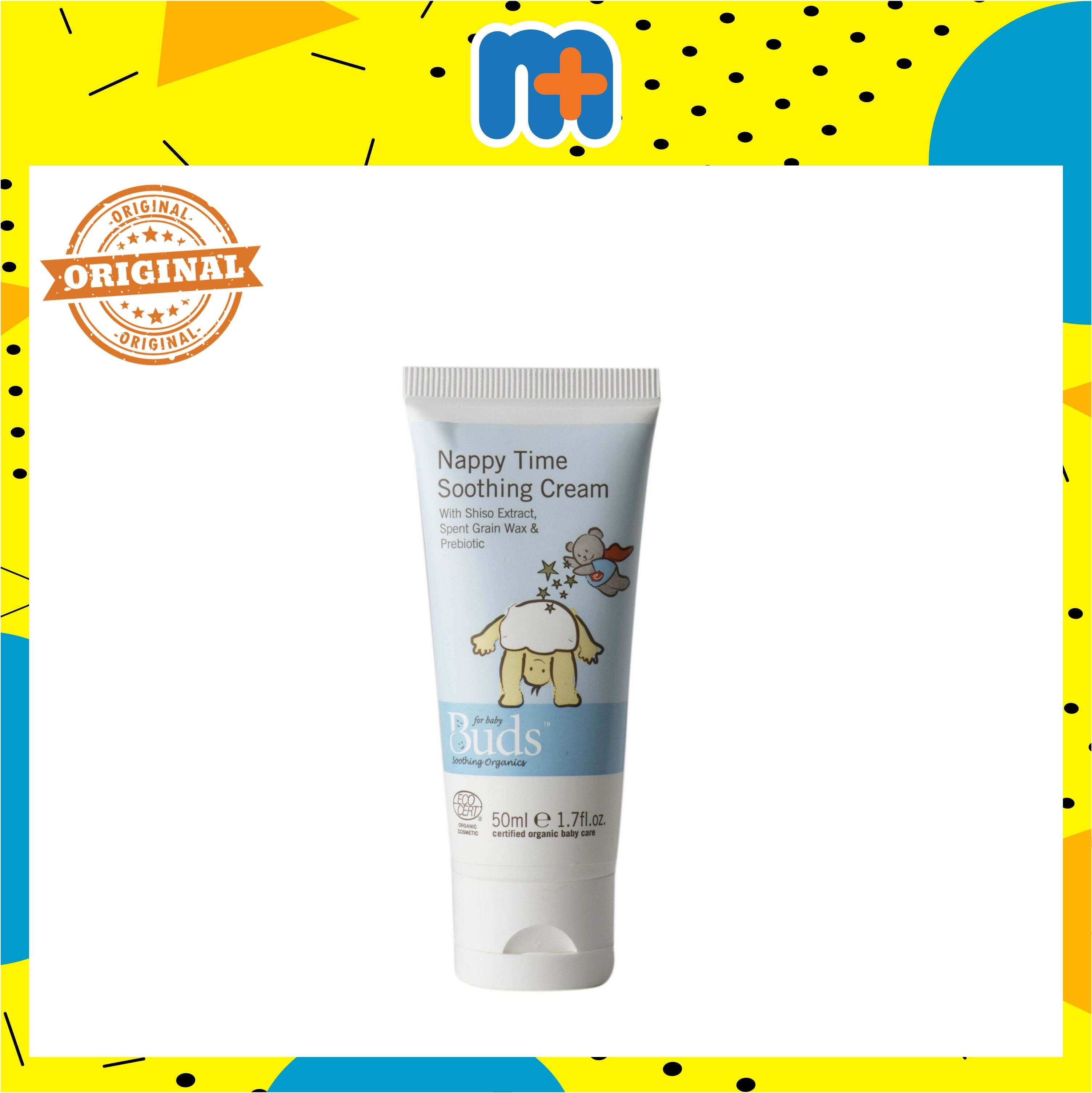 [MPLUS] BUDS BSO NAPPY TIME SOOTHING CREAM 50ML