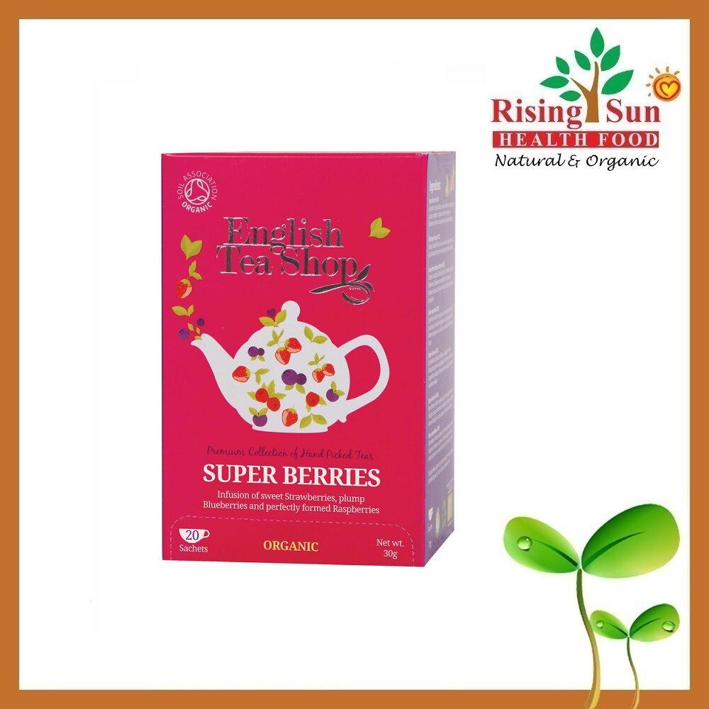 English Tea Shop Organic Tea Super Berries (20 bags) 30g EXP: March 2022