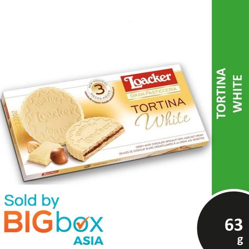 Loacker Tortina 63g - White
